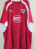 Bristol City 2007-2008 Squad Signed Home Football Shirt with COA /40127