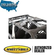 Smittybilt SRC 6 Piece Cage Kit 11-17 Jeep Wrangler JKU 4 Door 76904 Black