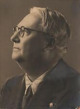 FRANCO ALFANO - Italian Composer & Pianist - Original Handsigned Photo - 1937