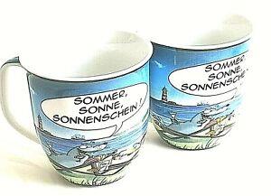 Hösti Becher 2 Stück  Sommer Sonne Sonnenschein
