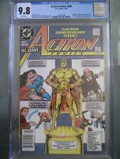 Action Comics #600 Newsstand UPC CGC 9.8 WP 1988 Wonder Woman & Batman app