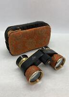 Vintage  BINOCULARS   Opena  3x Coates Magnification JAPAN ELKOW