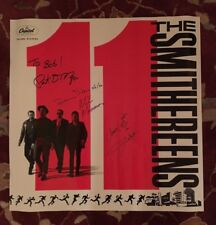 """THE SMITHEREENS  11  rare AUTOGRAPHED promotional poster 24""""X24""""  PAT DINIZIO"""