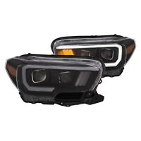 Anzo USA 111377 Projector Headlight Set Fits 2016-2017 Tacoma