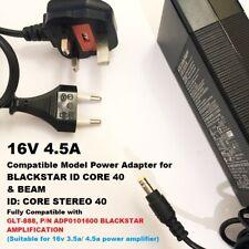 16V 4.5A/3.5A Adapter, Compatible with BLACKSTAR GLT-888, ADP0101600 Model