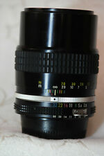 Serviced Nikon 135mm 3.5 AI Manual Focus Lens with 120 day Warranty