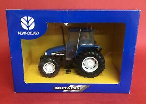 Scarce 2002 Britains 1/32 Turkish Dealer Issue New Holland TD95D No40580 MIB