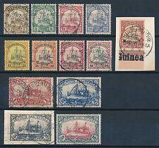 Gestempelte Briefmarken aus Deutsch-Neuguinea