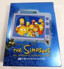 The Simpsons The Complete Fourth 4th Season DVD 2009, 4-Disc Collector's Set