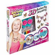 Shrinky Dinks Kit 3D Butterfly Jewelry 580160
