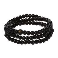 Buddhist sandalwood necklace prayer beads Mala Bracelet Buddha Tibet WS Z1W9