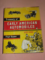 VINTAGE OLD CAR 1950 TREASURY of EARLY AUTOMOBILES 1877-1925 BOOK  FLOYD CLYMER