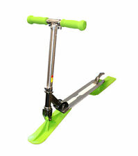 SNOW SLEDGE, Snow Glyder Ski Scooter Conversion Green Toy Gifts