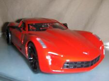 Toy Jada Dub 1:24 Red  2009 Chevy Corvette Sting Ray Concept Car