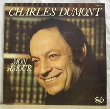 """33 tours Charles DUMONT Disque Vinyle LP 12"""" MON AMOUR - MFP 13368 Frais Rèduit"""