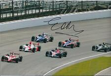 Eddie CHEEVER SIGNED Indy Car USA GRAND PRIX Autograph 12x8 Photo AFTAL COA