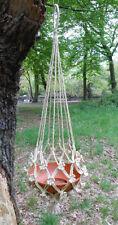 Handcrafted Braided Natural Jute Macrame Plant Hanger Pot Holders Hanging Basket