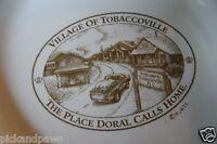 """Vintage """"Village of Tobaccoville"""" Doral R. J. Reynolds Tobacco Co. Ashtray"""