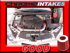 RED 06 07 08 09 CHEVY MALIBU/PONTIAC G6 3.9 3.9L V6 COLD AIR INTAKE KIT