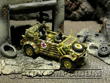 """Forces Of Valor """"BRAND NEW""""  WWII  German  Medical  Kubelwagen Type 82 - Holland"""