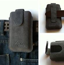 Samsung Galaxy Note 2 N7100 ASSEM echt leder Gürteltasche Handy Tasche Hülle