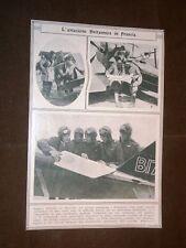 Seconda Guerra Mondiale WW2 Aviazione britannica in Francia