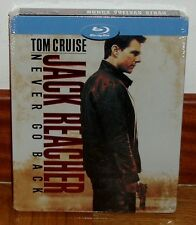 JACK REACHER NEVER GO BACK STEELBOOK BLU-RAY NUEVO NEW SEALED *(SIN ABRIR)** R2*