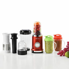 Standmixer 9in1 Mixer Smoothie-Maker Entsafter Küchenmaschine Blender