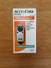 Accu-Chek Mobile Cassette - Pack of 50 Tests - BNIB - Expires end April 21
