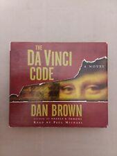 Robert Langdon Ser.: The Da Vinci Code by Dan Brown (2003, Compact Disc, Abridg…