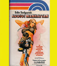 Edie Sedgwick ADDIO MANHATTAN Charlie Bacis Jeff Briggs vph video VHS Sex DROGEN