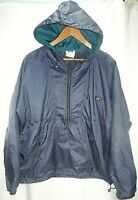 Helly Hansen Men's Sz.Small Rain Jacket , Windbreaker Pullover 1/2 Zip Hooded