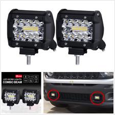 "2 Pcs 4"" LED Work Lights Flood Spot Combo Off-road Driving Fog Lamp Truck Boat"