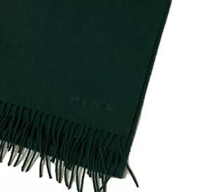 "Thomas Pink Merino Wool & Cashmere Blend Signature Scarf Green Size 78"" X 12"""