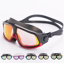 Идеально подходит для мужчин женский плавательные очки силиконовый большие рамка очки для плавания анти-туман