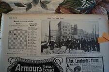 1906 Zeitungsblatt 851 / Erdbeben San Francisco Brotverteilung