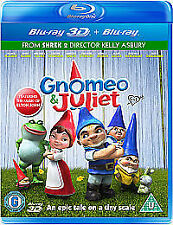 Gnomeo And Juliet (3D & 2D Blu-ray) Includes Both Versions 3D & 2D of the Movie