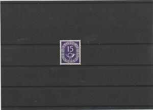 BUND Frühausgaben 1951 Mi. Nr. 129 postfrisch/ geprüft / Posthornmarke