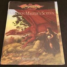 D&D 3.5 DRAGONLANCE DUNGEON MASTER'S SCREEN Dungeons and Dragons SVP-4901 NEW SW