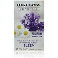 Bigelow Benefits Sleep Chamomile & Lavender Herbal Tea