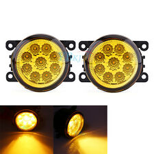 Auto Car Round Yellow LED Fog Lamp DRL Daytime Running Light New For Ford Focus