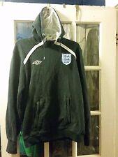 Umbro ENGLAND Navy Blue Hoodie Sweatshirt Adult Large World Cup Rio Brazil 2014