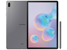 Tablet - Samsung Galaxy Tab S6, 128 GB, Gris, WiFi + LTE, 10.5""