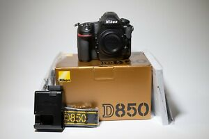 NIKON D850 45.7 MP Full Frame Digital SLR Camera Body