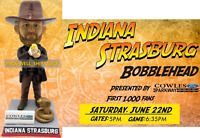 Stephen Strasburg Indiana Jones Bobblehead Washington Potomac Nationals 2019 SGA