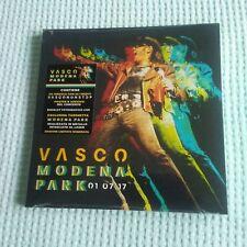 VASCO ROSSI FAN KIT MODENA PARK CDs + TARGHETTA METALLO + POSTER + BOOKLET NUOVO