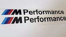 BMW M Performance Stickers Black 30cm -  M5 530 535 E39 E60 F10 F11 G30 G31 G32
