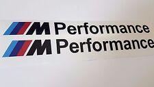 BMW M Performance Stickers Black 30cm -  M5 530 535 E39 E60 F10 F11 G30 G31 G32