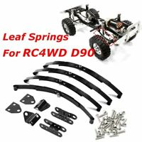 Stainless Steel Leaf Spring Shackle Kit Set for RC4WD D90 Crawler Climbing Car