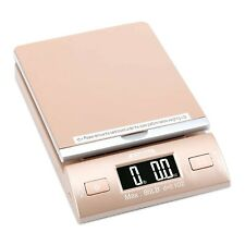 New Listingaccuteck Gold 86lbs Digital Shipping Postal Scale With Batteries And Ac Adapter